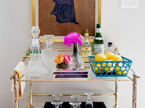 Bar cart inspiration 1