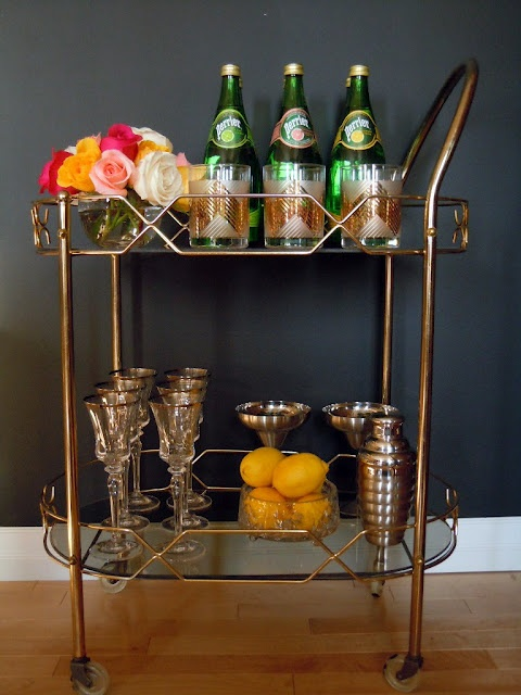 Bar cart inspiration 3