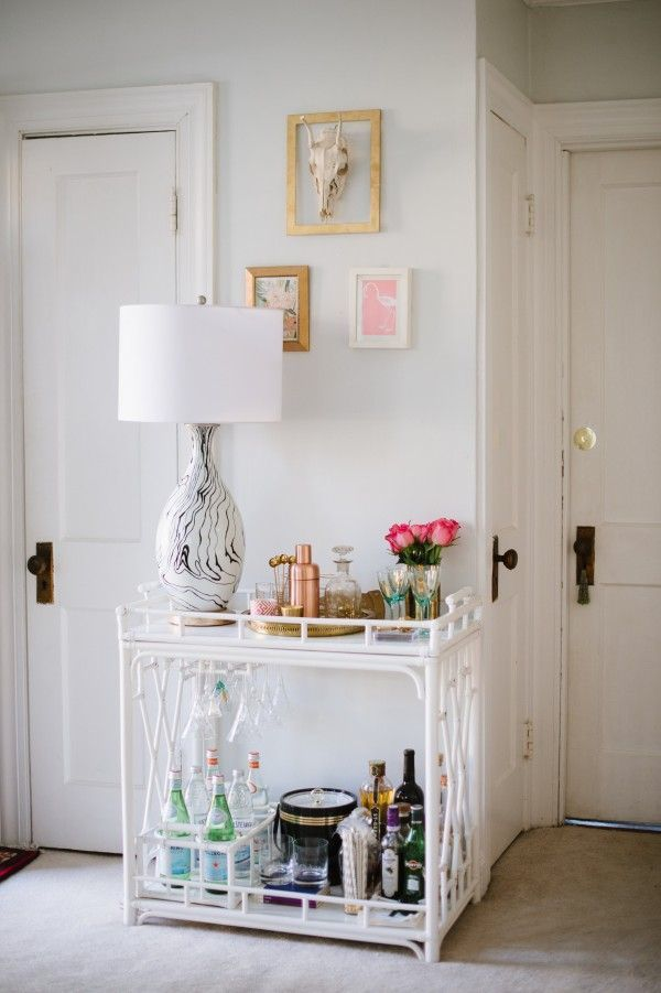 Bar cart inspiration 4