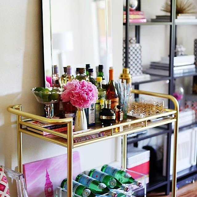 Bar cart inspiration 5