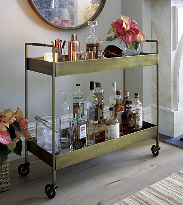 Bar cart inspiration 6