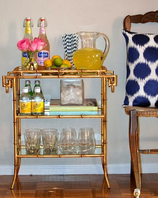 bar cart inspiration 8